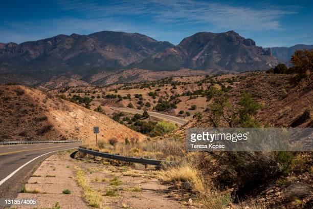 aldo leopald overlook new mexico - chisos mountains stock pictures, royalty-free photos & images