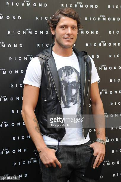 Aldo Montano attends John Richmond during Milan Fashion Week Womenswear Spring/Summer 2014 on September 22 2013 in Milan Italy