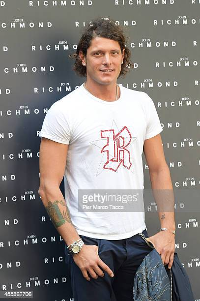 Aldo Montano attends on the John Richmond show during the Milan Fashion Week Womenswear Spring/Summer 2015 on September 21 2014 in Milan Italy