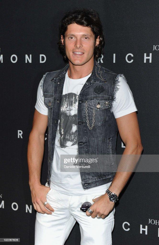 Aldo Montano attends the John Richmond Milan Menswear Spring/Summer 2011 show on June 21, 2010 in Milan, Italy.