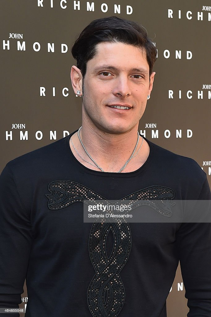 Aldo Montano attends the John Richmond show during the Milan Fashion Week Autumn/Winter 2015 on March 1, 2015 in Milan, Italy.