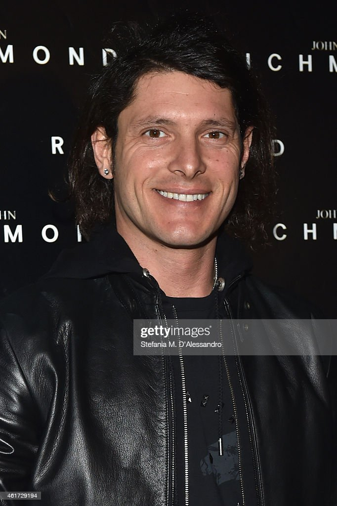 Aldo Montano attends the John Richmond Show during the Milan Menswear Fashion Week Fall Winter 2015/2016 on January 18, 2015 in Milan, Italy.
