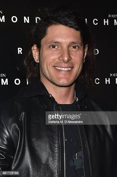 Aldo Montano attends the John Richmond Show during the Milan Menswear Fashion Week Fall Winter 2015/2016 on January 18 2015 in Milan Italy