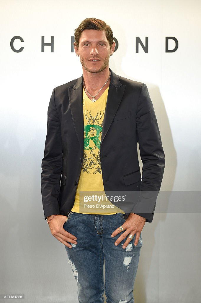 Aldo Montano attends the Richmond show during Milan Men's Fashion Week SS17 on June 18, 2016 in Milan, Italy.