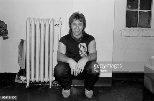 Aldo Nova at the Aragon Ballroom In Chicago Ilinois April 9 1982