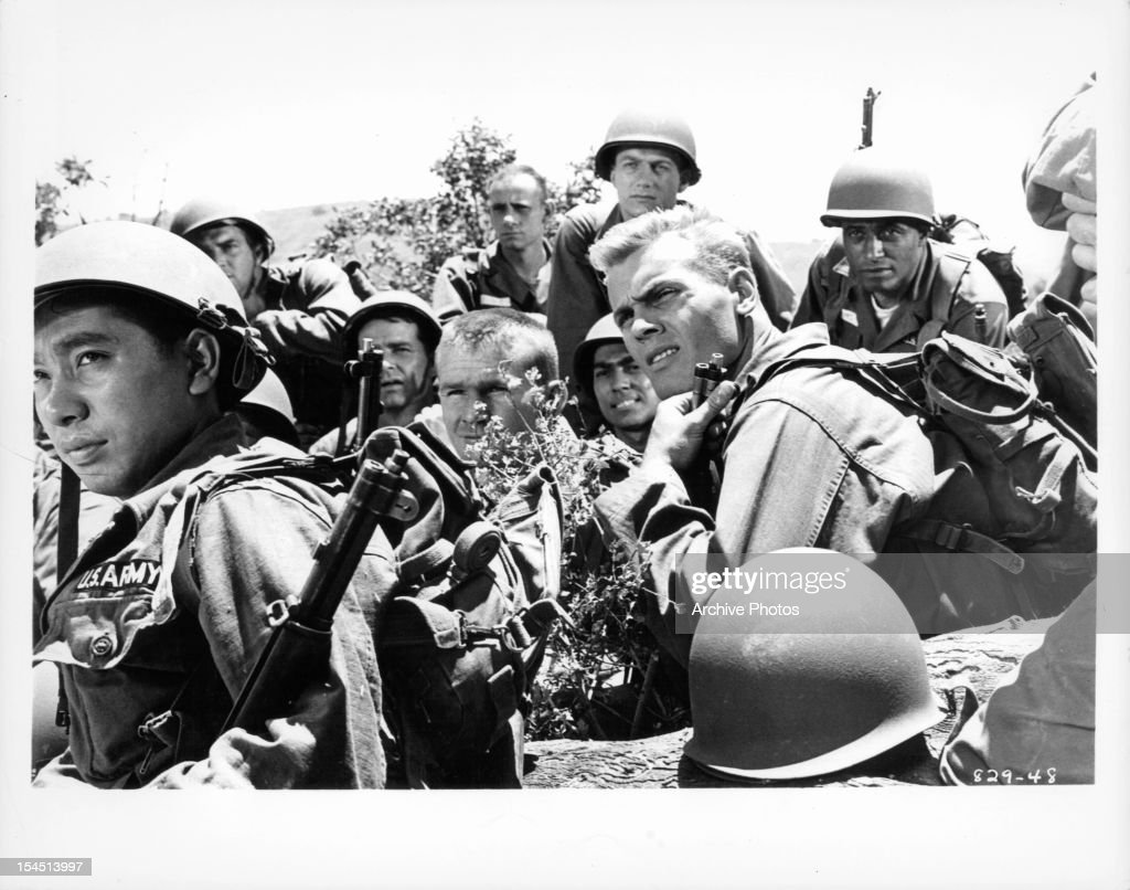 IN 'BATTLE CRY,' 1955 Hunter beat out the likes of James Dean and Paul Newman for this war movie, which helped him become a more serious and respected actor.