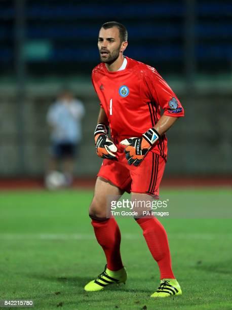 Aldo Simoncini San Marino goalkeeper