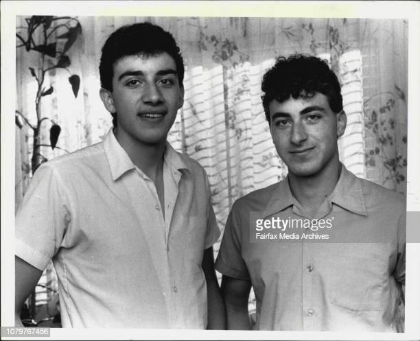 LR Aldo Vangi 17 and Antonio Vangi 16 who work at McDonald's store in BankstownAldo and Anthony Vangi work regularly at a suburban McDonald's Aldo is...