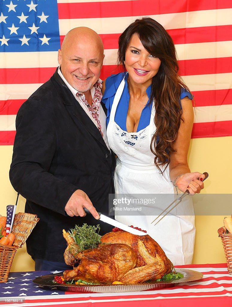 American University Thanksgiving Dinner : News Photo