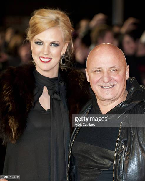 Aldo Zilli And Wife Nikki Arriving For The World Premiere Of The Woman In Black At The Royal Festival Hall Southbank Centre Belvedere Road London
