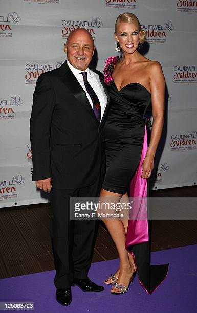 Aldo Zilli and wife Nikki Zilli attends The Caudwell Children Butterfly Ball at Battersea Evolution on September 15 2011 in London England