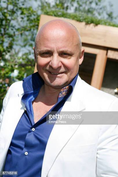 Aldo Zilli attends the VIP day of the Chelsea Flower Show at Royal Hospital Chelsea on May 18, 2009 in London, England.