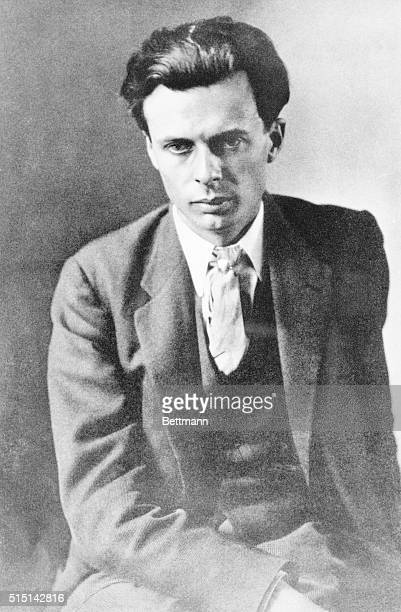 Aldous Huxley novelist critic and poet Photograph by Charles Sheeler