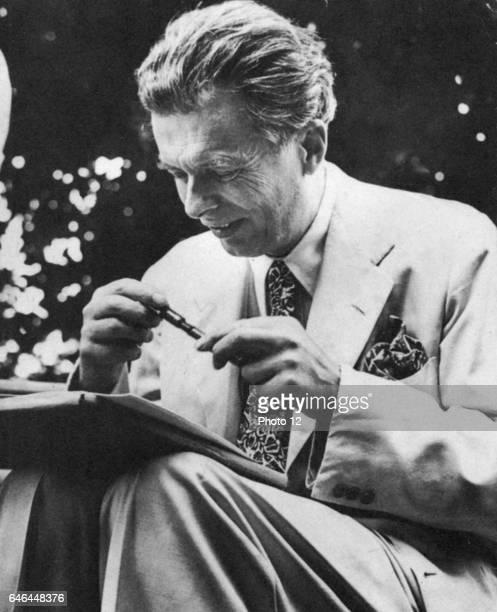 Aldous Leonard Huxley English essayist and novelist best remembered for 'Brave New World'
