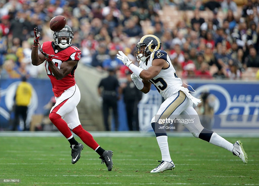 Atlanta Falcons v Los Angeles Rams
