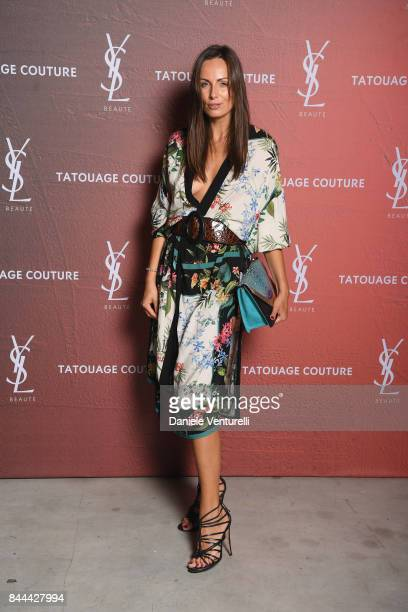 Aldy Przyilipiak attends the YSL Beauty Club Party during the 74th Venice Film Festival at Arsenale on September 8 2017 in Venice Italy