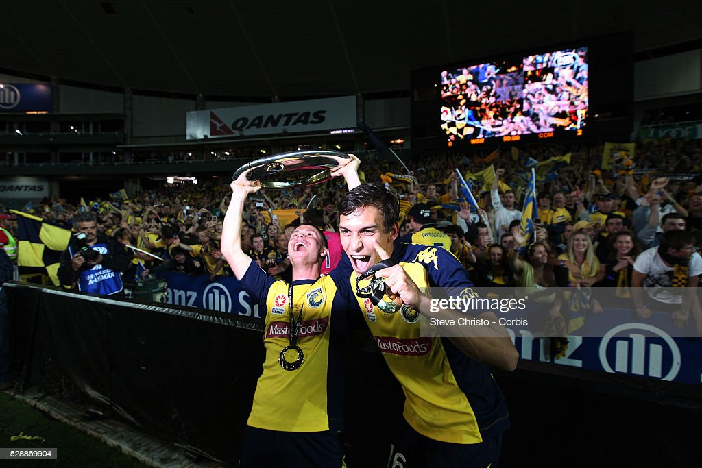 Soccer - A-League Grand Final - Western Sydney Wanderers v Central Coast Mariners : News Photo