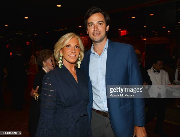 Alease Fisher and Cody Kittle attend Deborah Goodrich Royce's Finding Mrs Ford Book Launch at Doubles on June 11 2019 in New York City
