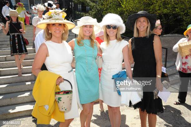 Alease Fisher Tiffany Burnette Linda ChaseJenkins and Holly Cutting attend 36th Annual Frederick Law Olmsted Awards Luncheon Central Park Conservancy...