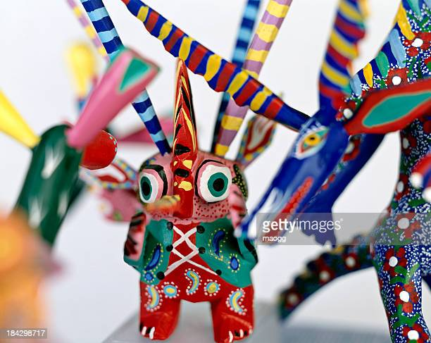 alebrijes - mexican crafts - alebrije stock pictures, royalty-free photos & images