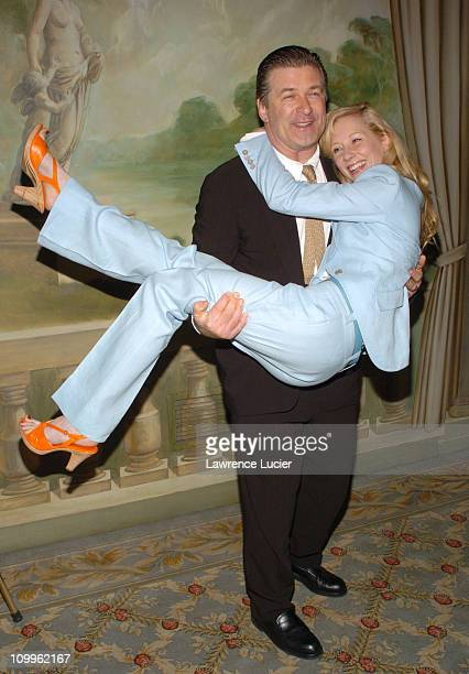 Alec Baldwin and Anne Heche during American Theatre Wing Hosts Annual Spring Luncheon at Pierre Hotel in New York City New York United States