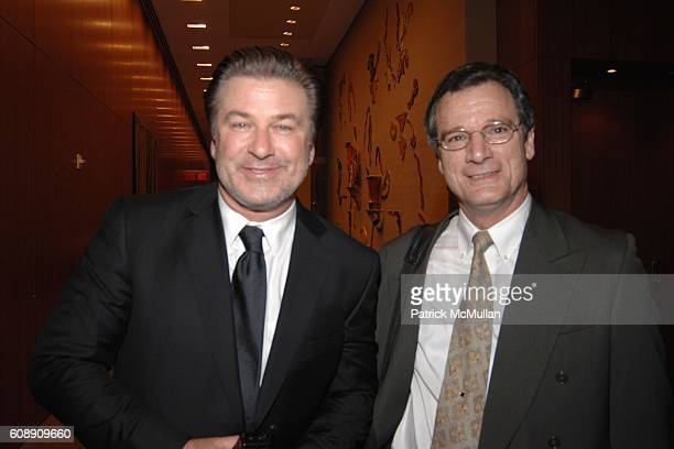 Alec Baldwin and Dan Fass attend Time Warner's Conversations On The Circle with Time Warner's CEO DICK PARSONS and SENATOR JOHN EDWARDS at Time...