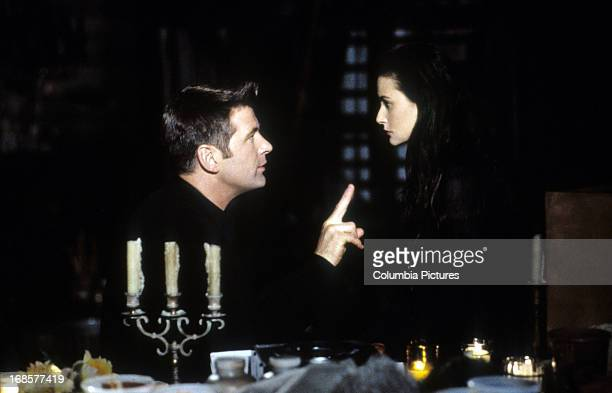 Alec Baldwin and Demi Moore in a scene from the film 'The Juror' 1996