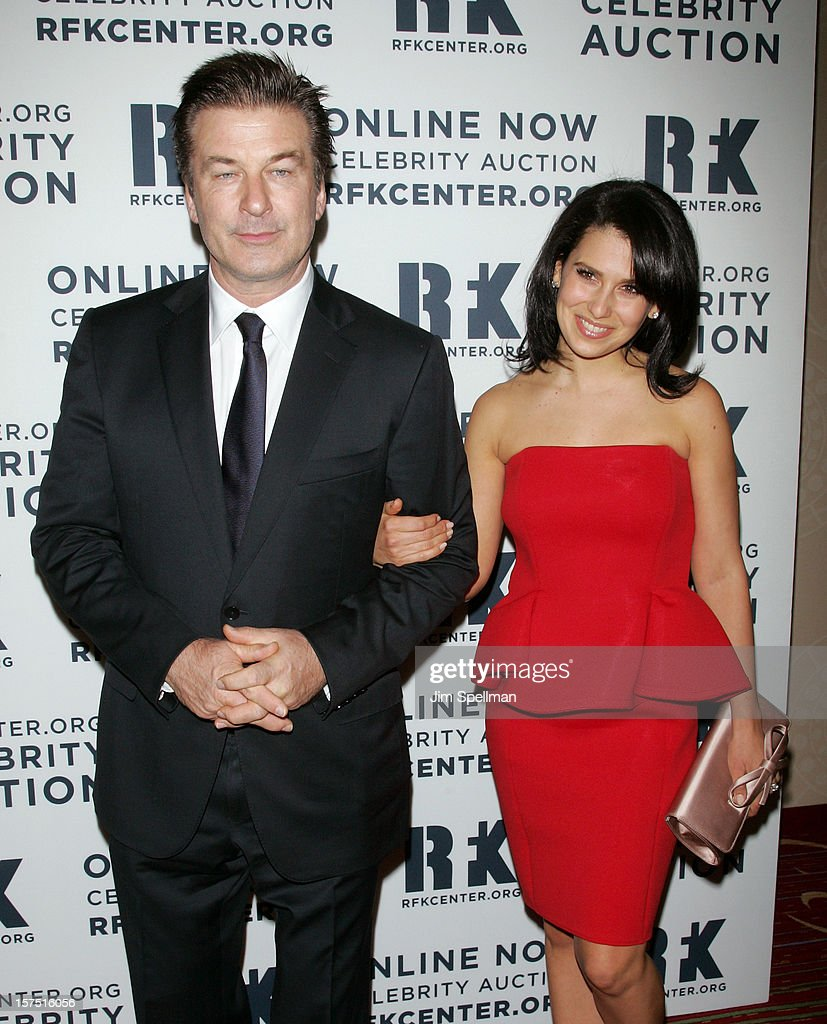 Alec Baldwin and Hilaria Baldwin attend 2012 Ripple Of Hope Gala at The New York Marriott Marquis on December 3, 2012 in New York City.