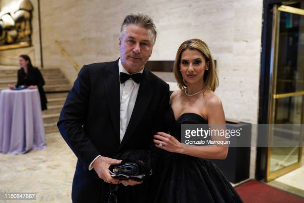 Alec Baldwin and Hilaria Baldwin attend the 2019 American Ballet Theatre Spring Gala at Lincoln Center on May 20 2019 in New York City