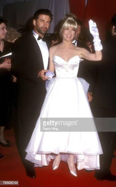 Alec Baldwin and Kim Basinger at the Shrine Auditorium in Los Angeles California