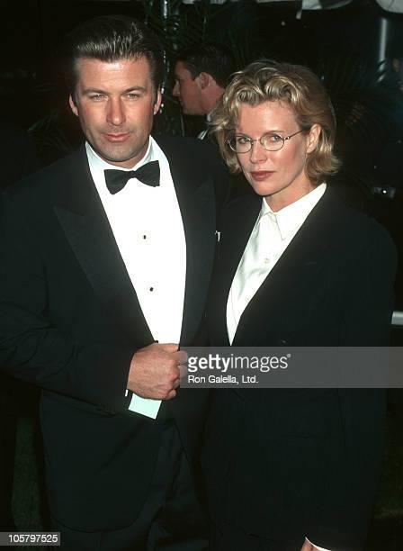 Alec Baldwin and Kim Basinger during Carol M Baldwin Breast Cancer Center Dedication October 18 1997 at Melville Marriott in Long Island New York...