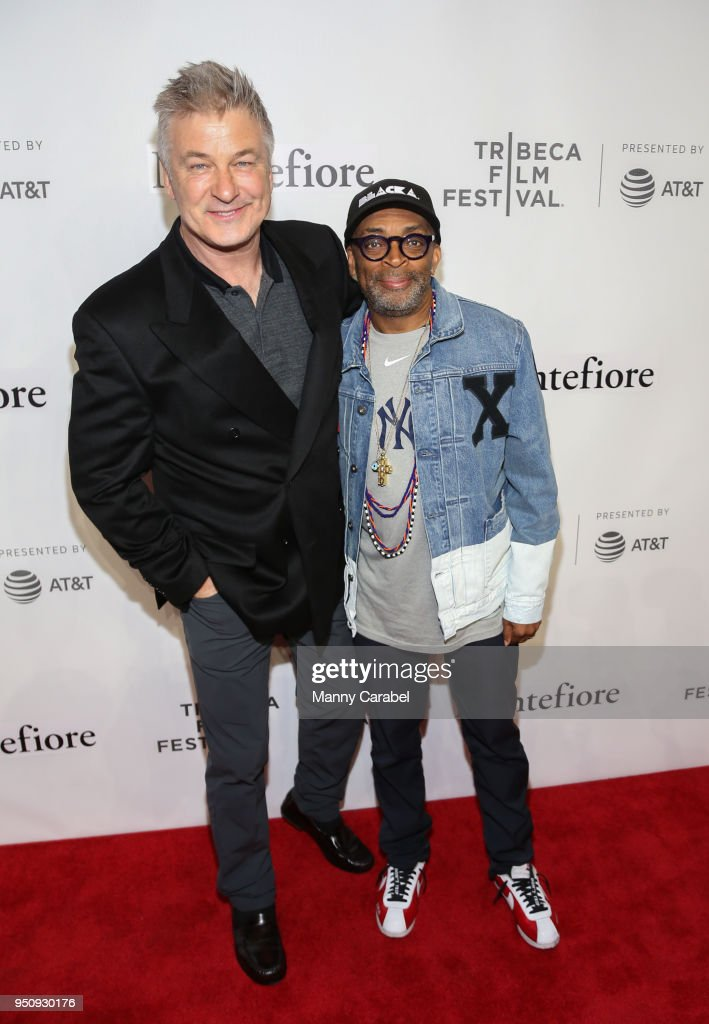 2018 Tribeca Film Festival - Tribeca Talks: Storytellers - Alec Baldwin With Spike Lee