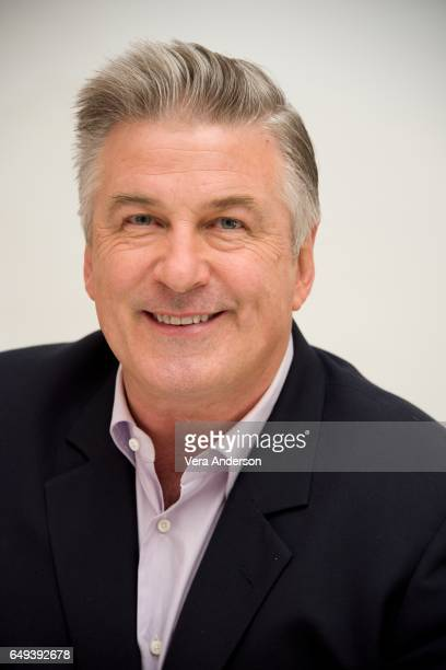 Alec Baldwin at 'The Boss Baby' Press Conference at the Four Seasons Hotel on March 6 2017 in Beverly Hills California