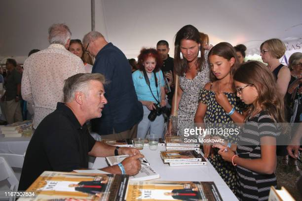 Alec Baldwin at the East Hampton Library's 15th Annual Authors Night Benefit, on August 10, 2019 in Amagansett, New York.