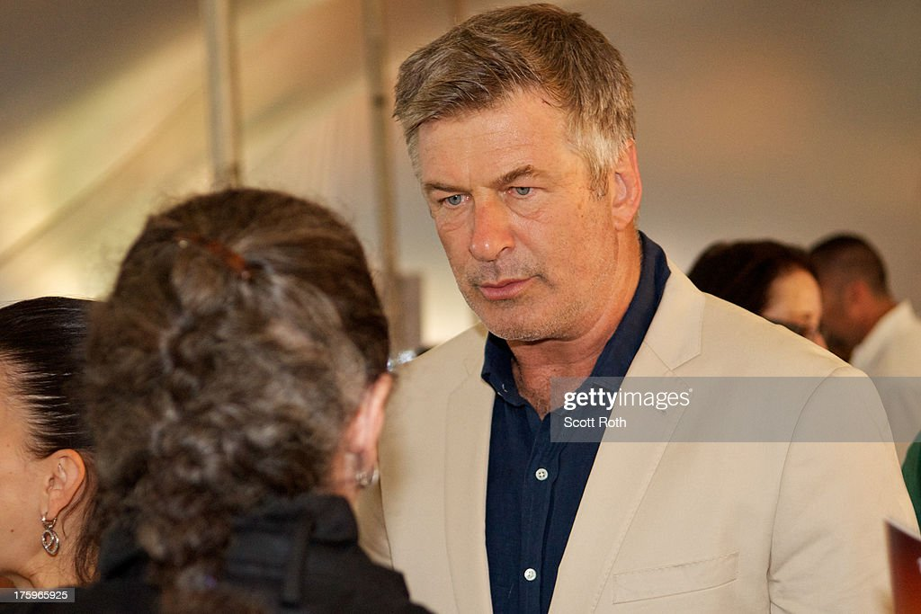 Alec Baldwin attends 9th Annual Authors Night at The East Hampton Library on August 10, 2013 in East Hampton, New York.