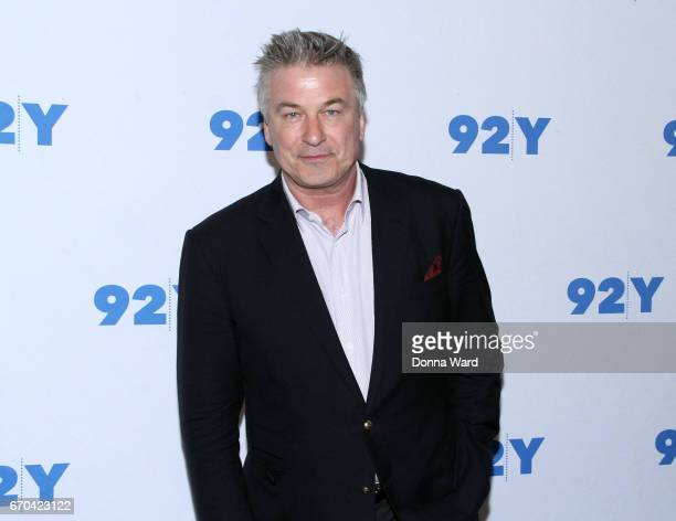 Alec Baldwin attends Alec Baldwin in Conversation with Janet Maslin at 92nd Street Y on April 19 2017 in New York City