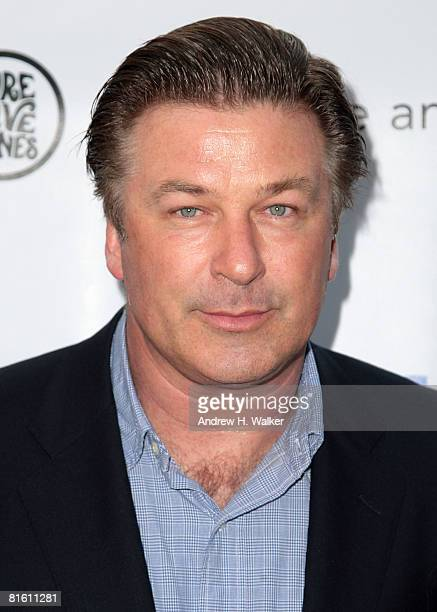 Alec Baldwin attends the 2008 Public Theater Gala & the opening night of Shakespeare In The Park on June 17, 2008 at Delacorte Theater in New York.