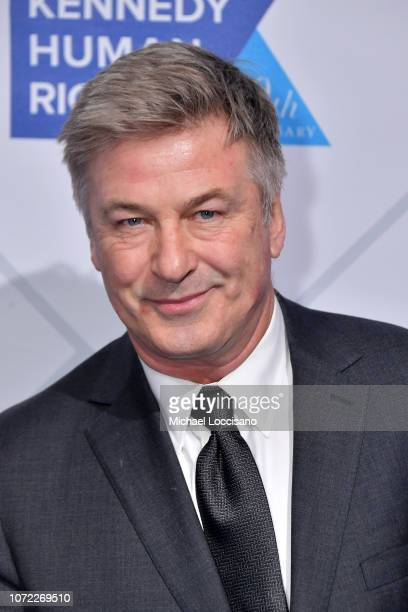 Alec Baldwin attends the 2019 Robert F Kennedy Human Rights Ripple Of Hope Awards on December 12 2018 in New York City