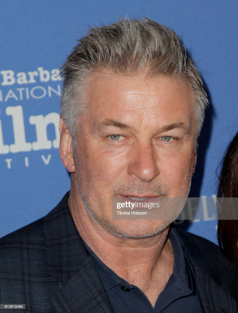 Alec Baldwin attends the 33rd annual Santa Barbara International Film Festival opening night premiere of 'The Public' at Arlington Theatre on January 31, 2018 in Santa Barbara, California.