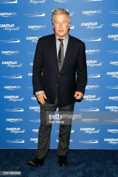 Alec Baldwin attends the Annual Charity Day hosted by Cantor Fitzgerald BGC and GFI at Cantor Fitzgerald on September 11 2018 in New York City