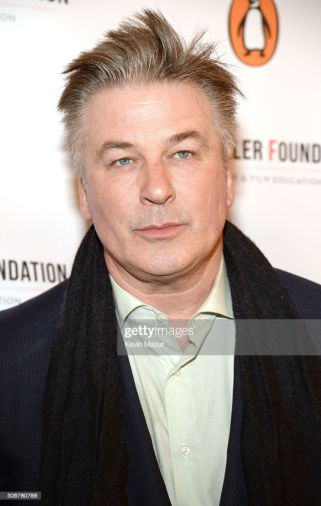 Alec Baldwin attends the Arthur Miller - One Night 100 Years Benefit at Lyceum Theatre on January 25, 2016 in New York City.