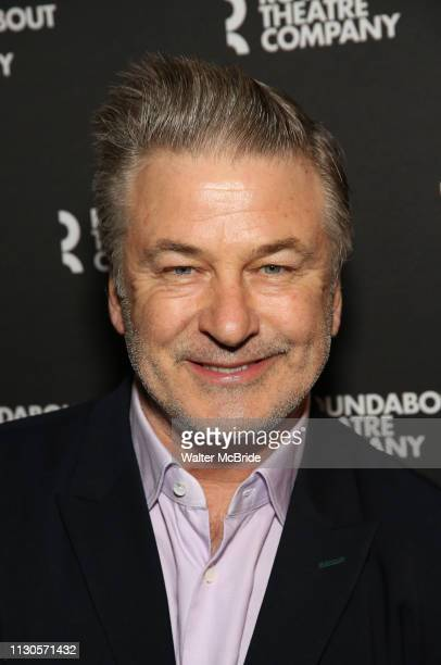 Alec Baldwin attends the Broadway Opening Night of Kiss Me Kate at Studio 54 on March 14 2019 in New York City