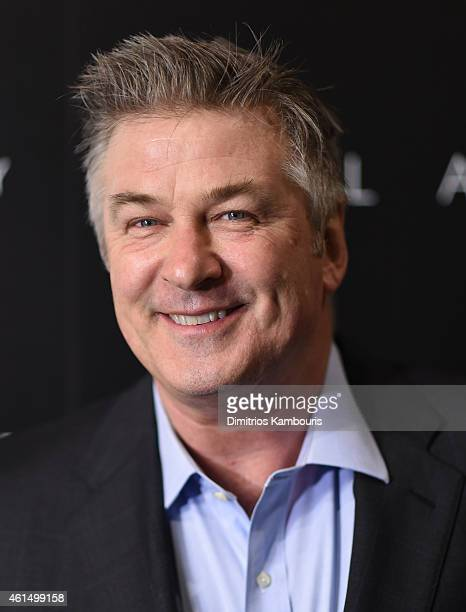 Alec Baldwin attends The Cinema Society with Montblanc and Dom Perignon screening of Sony Pictures Classics' Still Alice at Landmark's Sunshine...