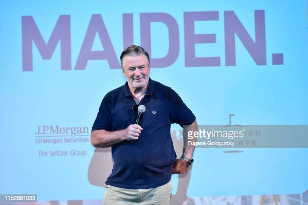 """Alec Baldwin attends the Hamptons International Film Festival Presents A SummerDocs Screening Of """"Maiden"""" at Guild Hall on June 29, 2019 in East..."""