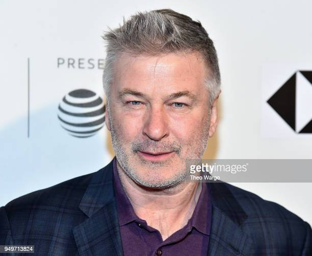 Alec Baldwin attends 'The Seagull' premiere during the 2018 Tribeca Film Festival at BMCC Tribeca PAC on April 21 2018 in New York City