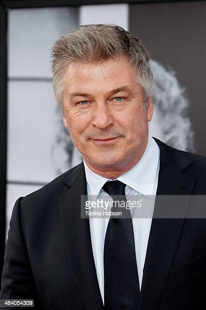 Alec Baldwin attends the TCM Classic Film Festival opening night gala for 'Oklahoma' at TCL Chinese Theatre IMAX on April 10 2014 in Hollywood...