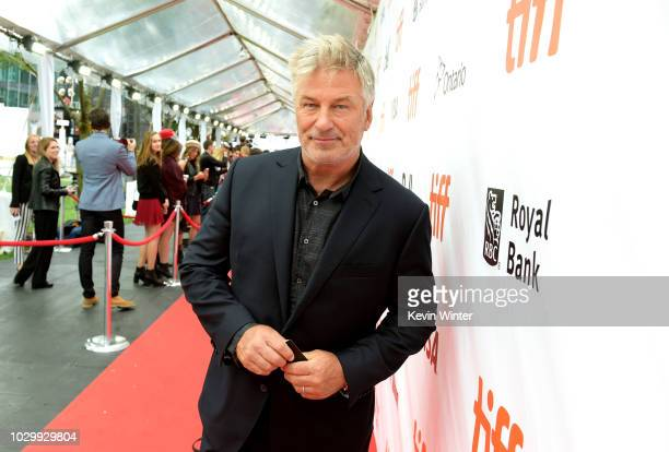 Alec Baldwin attends the The Public premiere during 2018 Toronto International Film Festival at Roy Thomson Hall on September 9 2018 in Toronto Canada
