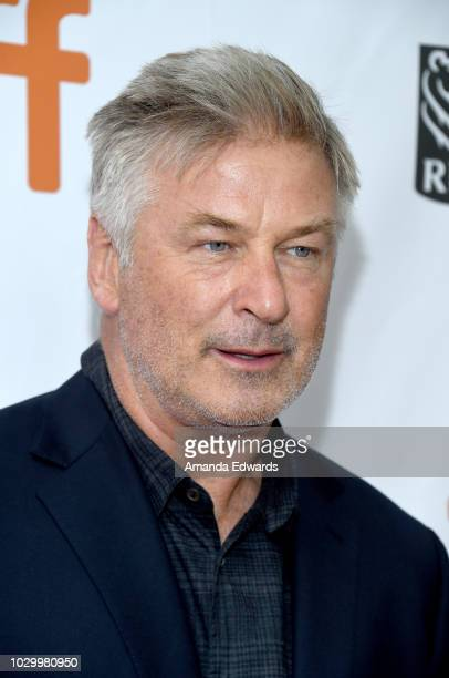 Alec Baldwin attends the 'The Public' premiere during 2018 Toronto International Film Festival at Roy Thomson Hall on September 9 2018 in Toronto...