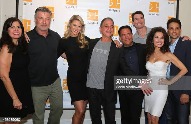 Alec Baldwin Christie Brinkley Tony Danza Eugene Pack Jerry O'Connell Susan Lucci and Ralph Macchio attend the Celebrity Autobiography PhotoOp at...