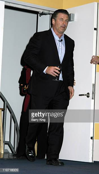 Alec Baldwin during AFI Screening of Elephant and Q A with Alec Baldwin at Skirball Cultural Center in Los Angeles California United States